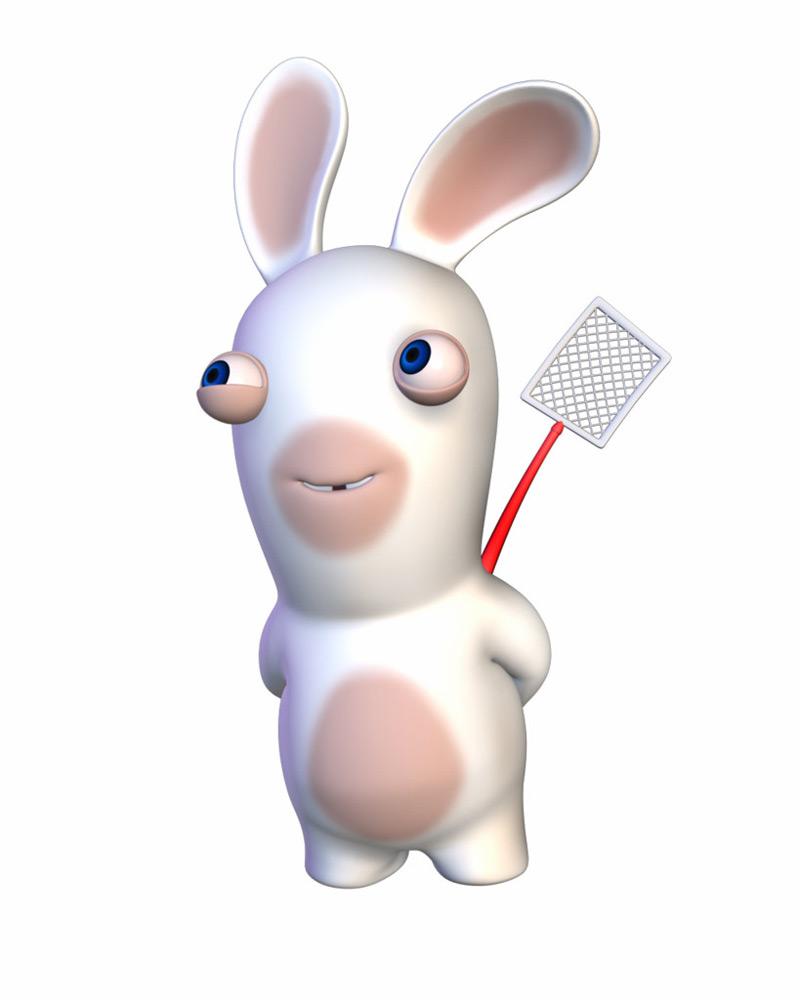 Bg e myth visionneuse rayman contre les lapins cr tins - Lapin cretin image ...
