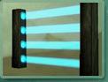 Barrière laser