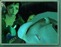 Jade retrouve son oncle Pey'j mort.