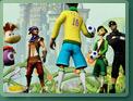 Pelé donne ses consignes à la team Ubisoft
