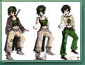 Les différents looks de Jade